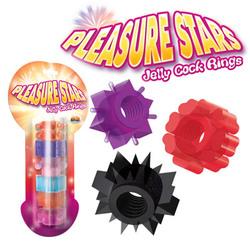 PLEASURE STAR PENIS RINGS