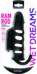 WET DREAMS RAM ROD PENIS EXTENSION SLEEVE W/ POWER BULLET