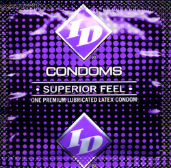 ID SUPERIOR FEEL CONDOM JAR 144PCS