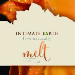 INTIMATE EARTH MELT WARMING GLIDE FOIL PACK 3ml (EACHES)