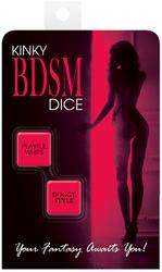 KINKY BDSM DICE(out Oct)