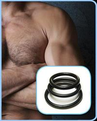 RUBBER COCK RINGS 3 PACK (out mid Nov)