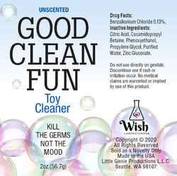 GOOD CLEAN FUN UNSCENTED 2 OZ CLEANER