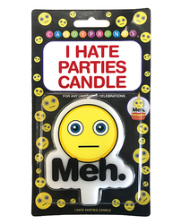 (WD) I HATE PARTIES CANDLE MEH