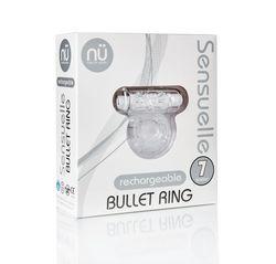 SENSUELLE BULLET RING CLEAR