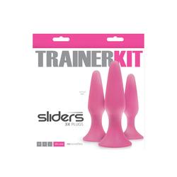 SLIDERS 3 PC TRAINER KIT PINK