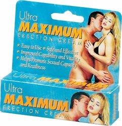 ULTRA MAXIMUM ERECTION CREAM .5OZ