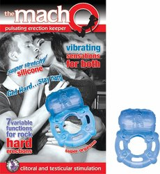 MACHO PULSATING ERECTION KEEPER BLUE