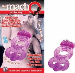 MACHO DOUBLE RING PURPLE