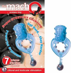 THE MACHO ECSTASY RING BLUE