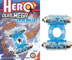 HERO DUAL MEGA LOVE BULLET BLUE