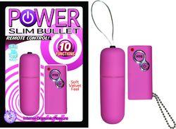 POWER SLIM BULLET REMOTE CONTROL PINK
