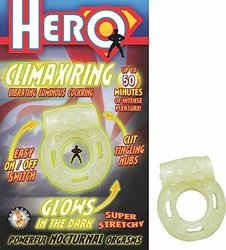 HERO CLIMAX RING GLOW IN THE DARK