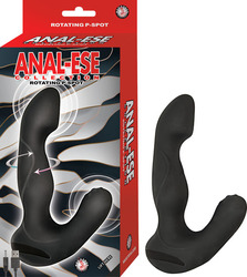 ANAL ESE COLLECTION ROTATING P SPOT VIBE BLACK