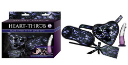 HEART-THROB DELUXE HARNESS KIT CURVED DONG PURPLE