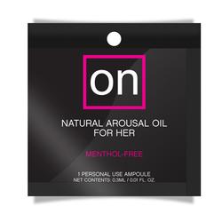 ON NATURAL AROUSAL OIL FOIL PACK