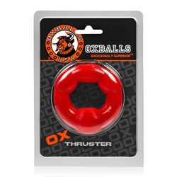 THRUSTER COCKRING OXBALLS RED (NET)