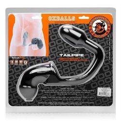 TAILPIPE COCK & ASS LOCK BLACK (NET)