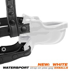 (WD) WATERSPORT STRAP-ON GAG W (NET)
