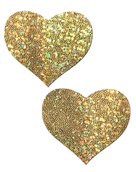 PASTEASE GOLD GLITTER HEART