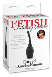 FETISH FANTASY CURVED DOUCHE ENEMA