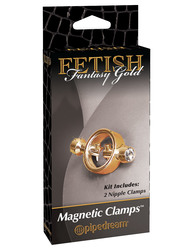 FETISH FANTASY GOLD MAGNETIC CLAMPS