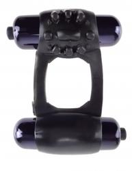 FANTASY C RINGZ DUO VIBRATING SUPER RING BLACK