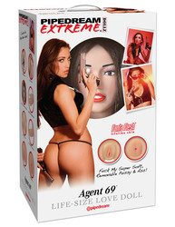 PIPEDREAM EXTREME DOLLZ AGENT 69