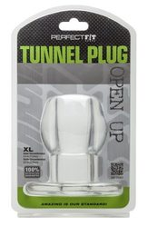 TUNNEL PLUG XL CLEAR (out end Dec)