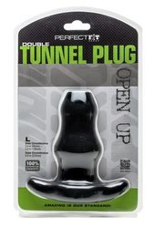 D-TUNNEL PLUG LARGE BLACK