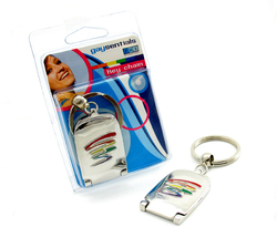 GAYSENTIALS MIRROR KEY CHAIN SQUIGGLE