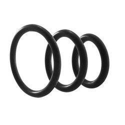 RING NITRILE 3PC SET BLACK