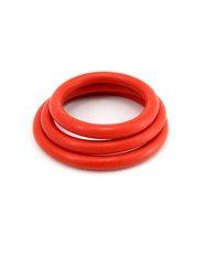 RING NITRILE 3PC SET RED
