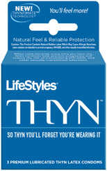LIFESTYLES THYN 3 PACK