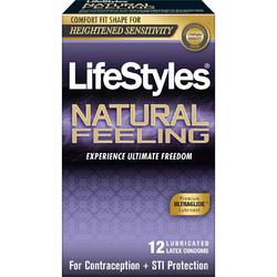 LIFESTYLES NATURAL FEELING 12PK