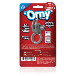 ORNY VIBE RING GREY (EACHES)