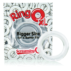 RING O XL 18PC CLEAR