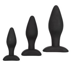 SILICONE ANAL EXERCISER KIT (out end Oct)