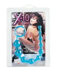X-10 BEADS-BLUE