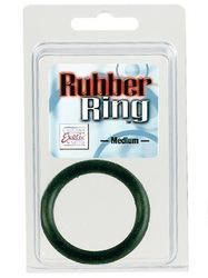 RUBBER RING BLACK MEDIUM