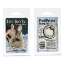 PEARL BEAD PROLONG RING SMOKE