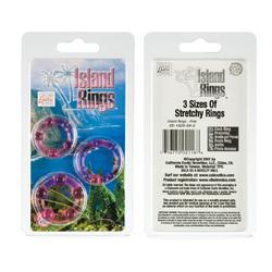 ISLAND RINGS-PINK