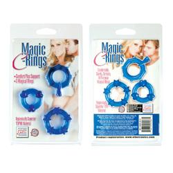 MAGIC C RINGS BLUE