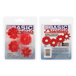BASIC ESSENTIALS 4 PACK RED