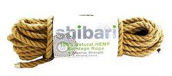SHIBARI NATURAL HEMP BONDAGE ROPE 10 METERS