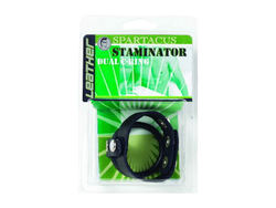 STAMINATOR LEATHER & RUBBER DUAL C-RING