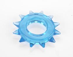 ELASTOMER C RING STUD BLUE