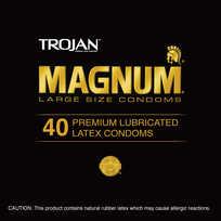 TROJAN MAGNUM 40PC CONTAINER