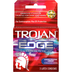 TROJAN THE EDGE 3 PACK