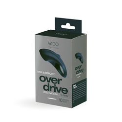 VEDO OVERDRIVE PLUS RECHARGEABLE RING JUST BLACK